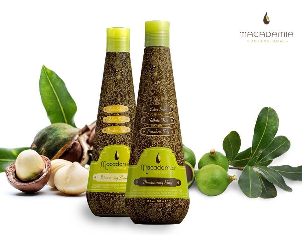 Bộ dầu gội và dầu xả trẻ hóa Macadamia